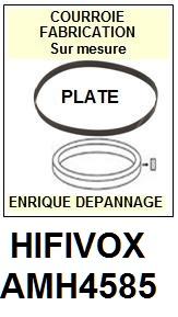 hifivox amh4585 courroie compatible tourne disques. Black Bedroom Furniture Sets. Home Design Ideas