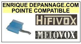 hifivox platine melovox pointe de lecture compatible diamant sph rique 27 5 euros. Black Bedroom Furniture Sets. Home Design Ideas