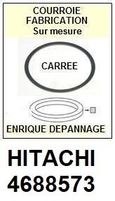 HITACHI 4688573  <BR>Courroie carrée référence hitachi (<B>square belt</B> manufacturer number)<small> 2017 NOVEMBRE</small>