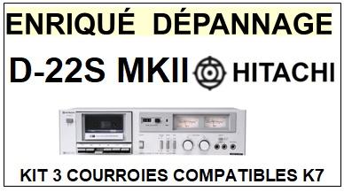 HITACHI-D22SMKII D-22S MKII-COURROIES-ET-KITS-COURROIES-COMPATIBLES