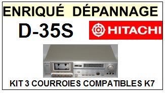 HITACHI-D35S D-35S-COURROIES-ET-KITS-COURROIES-COMPATIBLES