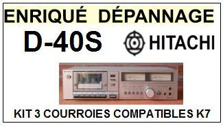 HITACHI-D40S D-40S-COURROIES-ET-KITS-COURROIES-COMPATIBLES
