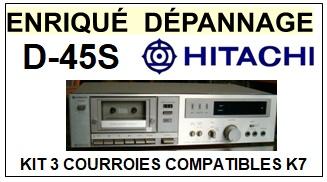HITACHI-D45S D-45S-COURROIES-ET-KITS-COURROIES-COMPATIBLES