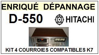 HITACHI-D550 D-550-COURROIES-ET-KITS-COURROIES-COMPATIBLES