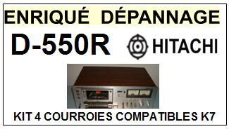HITACHI-D550R D-550R-COURROIES-ET-KITS-COURROIES-COMPATIBLES