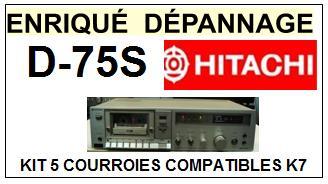 HITACHI-D75S D-75S-COURROIES-ET-KITS-COURROIES-COMPATIBLES