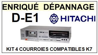 HITACHI-DE1 D-E1-COURROIES-ET-KITS-COURROIES-COMPATIBLES