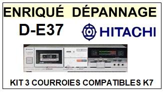 HITACHI-DE37 D-E37-COURROIES-ET-KITS-COURROIES-COMPATIBLES