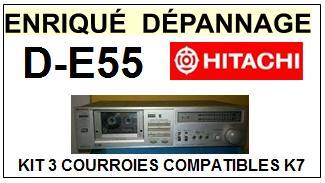 HITACHI-DE55 D-E55-COURROIES-ET-KITS-COURROIES-COMPATIBLES