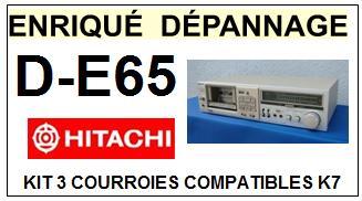 HITACHI-DE65 D-E65-COURROIES-ET-KITS-COURROIES-COMPATIBLES