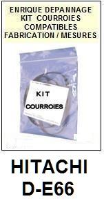 HITACHI-DE66 D-E66-COURROIES-ET-KITS-COURROIES-COMPATIBLES