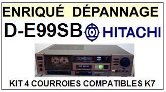 HITACHI-DE99SB D-E99SB-COURROIES-ET-KITS-COURROIES-COMPATIBLES