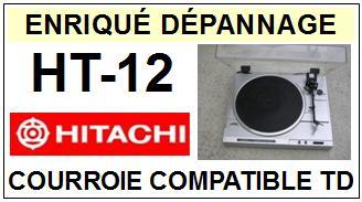 HITACHI-HT12 HT-12-COURROIES-ET-KITS-COURROIES-COMPATIBLES