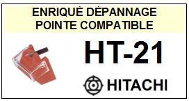 HITACHI HT21 HT-21 <br>Pointe sphérique pour tourne-disques (stylus)<small> 2015-12</small>