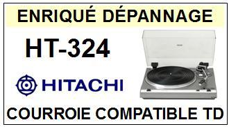 HITACHI-HT324 HT-324-COURROIES-ET-KITS-COURROIES-COMPATIBLES