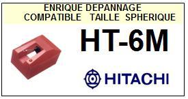 HITACHI<br> HT6M HT-6M Pointe (stylus) diamant sphérique<small> 2015-09</small>