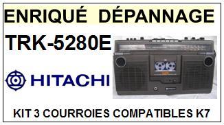 HITACHI-TRK5280E TRK-5280E-COURROIES-ET-KITS-COURROIES-COMPATIBLES