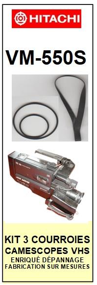 HITACHI-VM550S VM-550S-COURROIES-ET-KITS-COURROIES-COMPATIBLES