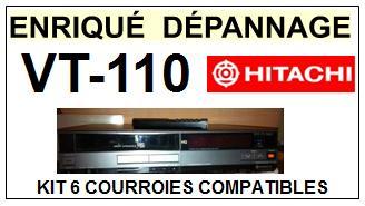 HITACHI-VT110 VT-110-COURROIES-ET-KITS-COURROIES-COMPATIBLES