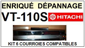 HITACHI-VT110S VT-110S-COURROIES-ET-KITS-COURROIES-COMPATIBLES
