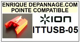 ION<br> ITTUSB05 ITT USB 05 Pointe (stylus) diamant sphérique<small> 2015-10</small>