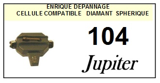 JUPITER 104 JUKEBOX <BR>Cellule  pour JUKEBOX (<B>cartridge</B>)<SMALL> 2016-01</small>