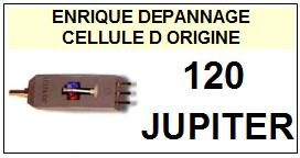 JUPITER  120  JUKEBOX  Cellule DOUBLE d\' ORIGINE avec diamant ( G /D )