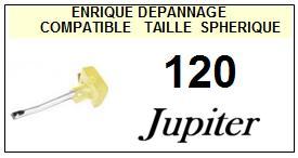 JUPITER 120 <br>Pointe  diamant sphérique pour jukebox (stylus)<small> 2015-10</small>