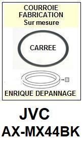 JVC-AXMX44BK AX-MX44BK-COURROIES-ET-KITS-COURROIES-COMPATIBLES