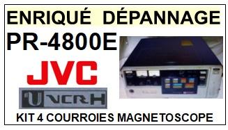 JVC-PR4800E U-VCR  PR-4800E-COURROIES-ET-KITS-COURROIES-COMPATIBLES