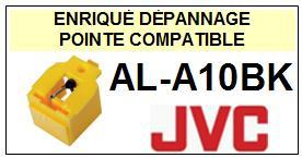 JVC  ALA10BK AL-A10BK <br>Pointe diamant sphérique pour tourne-disques (stylus)<small> 2015-10</small>