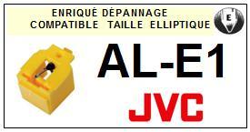JVC  ALE1 AL-E1 <br>Pointe diamant pour tourne-disques (<b>ellipical stylus</b>)<small> 2016-01</small>