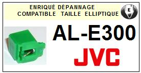 JVC<br> ALE300 AL-E300 Pointe (stylus) elliptique pour tourne-disques<small> 2015-09</small>