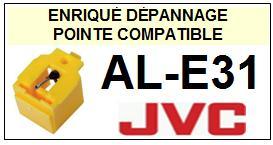 JVC<br> ALE31 AL-E31 Pointe (stylus) diamant sphérique<small> 2015-09</small>