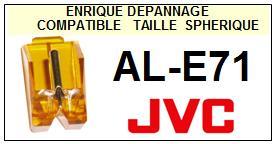 JVC<br> ALE71 AL-E71 Pointe (stylus) sphérique pour tourne-disques <sce 2015-09>