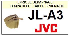 JVC<br> JLA3 JL-A3 Pointe (stylus) sphérique pour tourne-disques<small> 2015-10</small>
