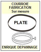 jvc la110b l a110b courroie compatible tourne disques 14 5 euros. Black Bedroom Furniture Sets. Home Design Ideas