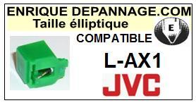 JVC<br> LAX1 L-AX1 Pointe (stylus) elliptique pour tourne-disques<SMALL> 2015-09</small>