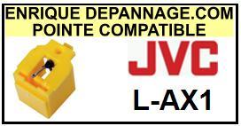 JVC<BR> LAX1 L-AX1 Pointe diamant sphérique <BR><small>sce 2015-08</small>