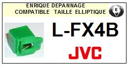 JVC<br> LFX4B L-FX4B Pointe (stylus) elliptique pour tourne-disques <BR><small>se 2015-08</small>