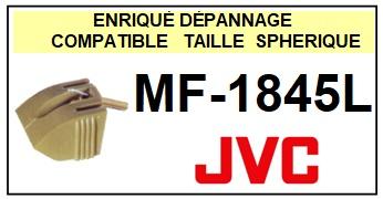 JVC<BR> MF1845L MF-1845L Pointe (stylus) diamant sphérique<small> 2015-09</small>
