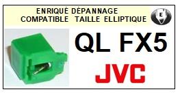 JVC-QLFX5 QL-FX5-POINTES-DE-LECTURE-DIAMANTS-SAPHIRS-COMPATIBLES