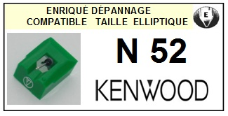 KENWOOD N52 <br>Pointe Diamant Elliptique (stylus)<small> 2015-12</small>