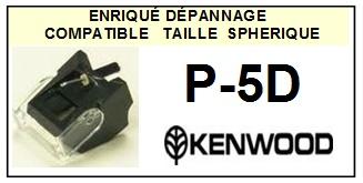 KENWOOD<br> P5D P-5D Pointe sphérique (stylus) pour tourne-disques<small> 2015-09</small>