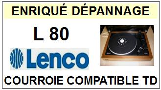 LENCO-L80 ST-35VD-COURROIES-ET-KITS-COURROIES-COMPATIBLES