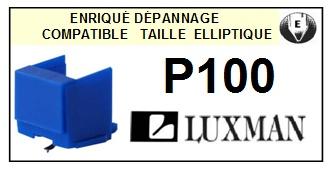 LUXMAN P100  <bR>Pointe elliptique pour tourne-disques (<b>elliptical stylus</b>)<SMALL> 2016-01</small>