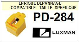 LUXMAN <br>Platine PD284 PD-284 Pointe (stylus) diamant sphérique <BR><small>se 2015-08</small>