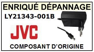 CHARGEUR JVC D ORIGINE POUR CAMESCOPE JVC GR-D33AH