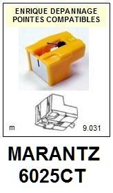 MARANTZ 6025CT <br>Pointe diamant sphérique pour tourne-disques (stylus)<SMALL> 2015-10</SMALL>
