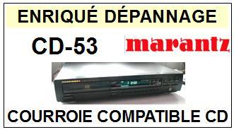 MARANTZ-CD53 CD-53-COURROIES-ET-KITS-COURROIES-COMPATIBLES
